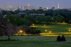 Primrose Hill. The best views of the city from here. I ran up it on my last day living in #London.