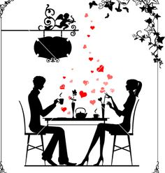 Cafe cupid vector 19228 - by belarusochka on VectorStock®
