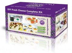 Buy Mad Mille Fresh Cheese Kit - Brewing Equipment, Kits Online For Home Brewing Brewing Equipment, Hooch, How To Make Cheese, Home Brewing, Pomegranate, Mad, Decorative Boxes, Favorite Recipes, Fresh