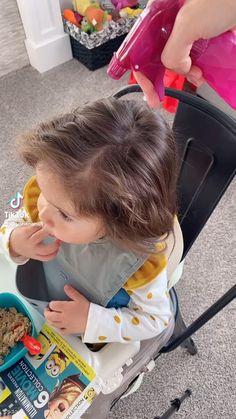 Easy Toddler Hairstyles, Easy Little Girl Hairstyles, Cute Simple Hairstyles, Baby Girl Hairstyles, Easy Hairstyles, Girl Hair Dos, Hair Looks, Toddlers, Hair Styles