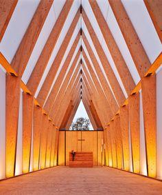 Lichtkirche – mobiler Kirchenraum, Darmstadt
