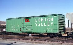 Vintage Trains, Rail Car, Rolling Stock, Lehigh Valley, Buses, Track, Layout, Cars, American