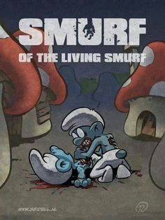 Smurf living z -M4U-