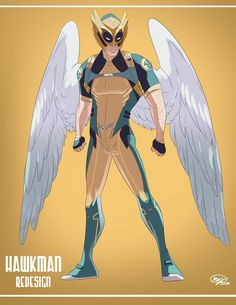 Hawkman by on DeviantArt Dc Comics Heroes, Marvel Comics, Novel Characters, Hawkgirl, Superhero Design, Comic Books Art, Book Art, Detective Comics, Nightwing