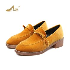Ame 2017 new fashion comfortable pumps preppy style flock low square heels casual comfortable brand shoes for women with riband Casual Confortable, Casual Heels, Preppy Style, Shoe Brands, Women's Pumps, New Fashion, Oxford Shoes, Dress Shoes, Loafers