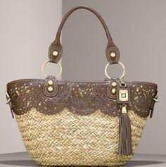 Rafe Adriana Seagrass Basket - brand name purses on sale, small purses, black leather bags women's handbags *ad