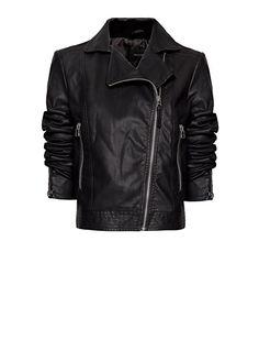MANGO - Motorsikletçi tarzı ceket
