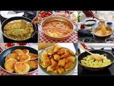 Top Six 10 Minute Turkish Sahur / Breakfast Recipes - YouTube Top Recipes, Cooking Recipes, My Favorite Food, Favorite Recipes, Mediterranean Recipes, Chana Masala, Food Videos, Breakfast Recipes, Lunch