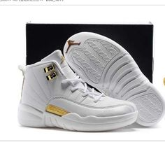 ea4c13b3145b Buy 2017 Kids Air Jordan 12 All White Gold Basketball Shoes Cheap To Buy  from Reliable 2017 Kids Air Jordan 12 All White Gold Basketball Shoes Cheap  To Buy ...
