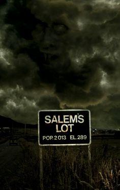 Quiet Little Town of Salem's Lot. Arte Horror, Horror Art, Horror Books, Horror Movies, Films Stephen King, Salem Lot, Evil Dead, Steven King, The Dark Tower