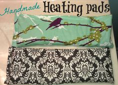Living, Loving, Crafting: Homemade Heating Pad