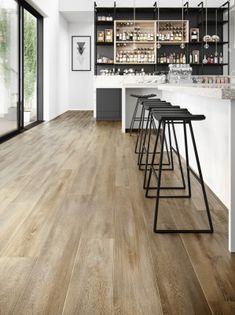 Santa Cruz 59253 Wood Effect Luxury Vinyl Flooring Moduleo Vinyl Flooring Kitchen, Kitchen Vinyl, Luxury Vinyl Flooring, Luxury Vinyl Tile, Luxury Vinyl Plank, Living Room Flooring, Farmhouse Flooring, Shaker Kitchen, Hardwood Tile