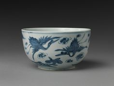 "Bowl decorated with ten symbols of longevity, 19th century. Joseon dynasty (1392–1910). Korea. The Metropolitan Museum of Art, New York. Purchase, Michael M. Kim and Jeanie J. Kim Gift, 2015(2015.271) | This work is exhibited in the ""Expressions of Nature in Korean Art"" exhibition, on view through September 18,2016."