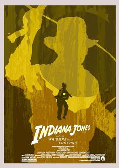 Indiana Jones and Raiders of the Lost Ark - Poster by Matt Brazier