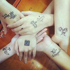 tattoo..designed by my friend ♥ love Scorpio much ♥