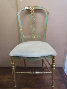 Wonderful French Chair found at auction! W Road Collection