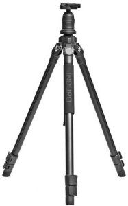 Induro AKB1 Tripod Kit (Black) by Induro. $159.00. The Induro Adventure Series Tripod Kits have become one of the most popular series of tripods on the market today. While they were conceived with the budget-conscious photographer in mind, a close look will show that no compromises were made in the materials, design or construction. The AKB1 is built to the same standards as top-of-the-line Induro professional tripods. The AKB1 is a rugged 3 leg section tripod with matching ball...
