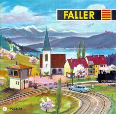 1963-64 Faller catalogue
