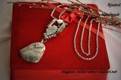 www.e-cadouri.net Heart Charm, Charmed, Bracelets, Handmade, Jewelry, Hand Made, Jewlery, Jewerly, Schmuck