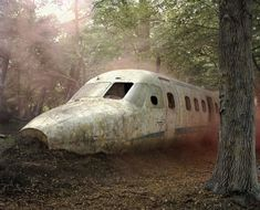 Paintball Sites Transformed Into Post-apocalyptic Dreamscapes