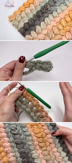 Watch this tutorial to learn crochet braided stitch! This beautiful stitch resembles a braid and it's a easy stitch in comparison to others we tried before. Crochet Braids, Crochet Hooks, Free Crochet, Knit Crochet, Crochet Baby, Stitch Patterns, Crochet Patterns, How To Make Scarf, Easy Stitch