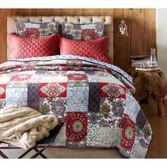 Shop for Vintage Cotton 3-piece Quilt Set. Get free shipping at Overstock.com - Your Online Fashion Bedding Outlet Store! Get 5% in…