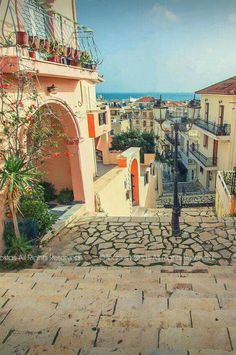 The old town of Zakynthos, Ionian Sea, Greece