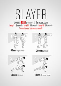 Slayer HIIT Workout