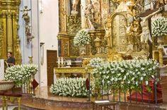 arreglos florales para altares de iglesias catedrales