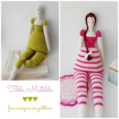 Tilda Matilda FREE pattern (scroll down for the English PDF)