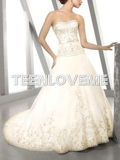 Sexy Satin Dresses Best Selling 2013 New Style A-line Wedding Dresses