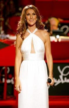 Celine Dion poster on sale at theposterdepot. Poster sizes for all occasions. Celine Dion Poster White Gown for sale. Celine Dion, White Gowns, White Dress, Divas, Gal Gabot, Jolie Photo, Hollywood Celebrities, Female Singers, Jennifer Aniston