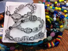 Zentangled beads:  I am the diva - Certified Zentangle Teacher (CZT®)