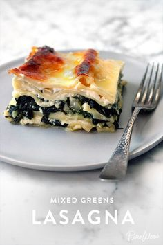 Mixed Greens Lasagna is a lot healthier thanks to the addition of kale, spinach and arugula but just as delicious. All in all it takes an hour to prepare and make.