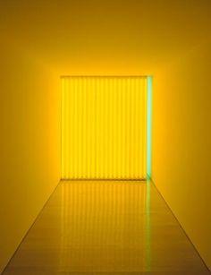 """Untitled (To Jan And Ron Greenberg)"" Dan Flavin Date: 1973 Style: Minimalism Genre: installation"