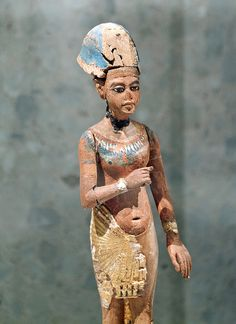 Amenhotep IV - Akhenaten. Egyptian Museum and Papyrus Collection, Berlin