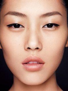 Liu wen natural look