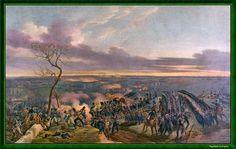 """""""Bataille de Montmirail"""". Peint en 1822 par Emile Jean Horace Vernet."""