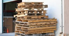 Build Your Own End Tables In Just 2 Hours Using Pallets via LittleThings.com