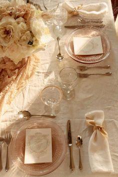 Dress It Up -- Vintage pink depression glass dinnerware. Small Intimate Wedding, Intimate Weddings, Small Weddings, Wedding Blog, Diy Wedding, Wedding Ideas, Wedding Decor, Wedding Stuff, Dream Wedding
