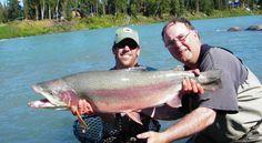 Trout - Guided Fishing in Kenai, Alaska www.captainblighs.com