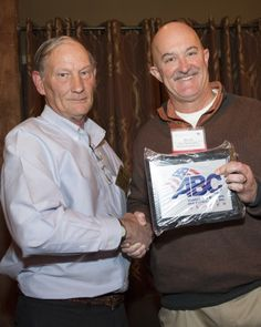 Steve Workmeister might be new to ABC, but he's certainly not new to the industry. As the president of Premier Concrete, Steve has steered Premier to become one of the top concrete construction firms in the area. Steve is shown here receiving his new member plaque from Chair Bill Kleinfelder.