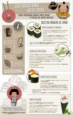 Sundari guia basica para hacer sushi