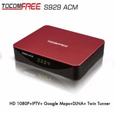 >> Click to Buy << TOCOMFREE Twin Tuner Full HD Satellite Receiver Strong Decoder Tocomfree S929ACM Work for Brazil Colombia Chile Argentina #Affiliate