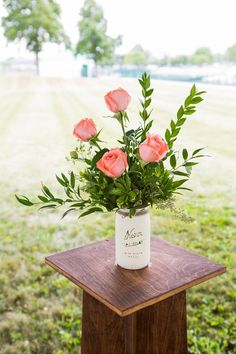 Romantic Pink and White Yacht Club Wedding - WeddingLovely Blog
