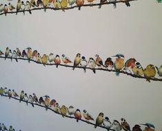 Laura Ashley Garden Birds Multi Wallpaper Many Available Same Batch W097970-A//1