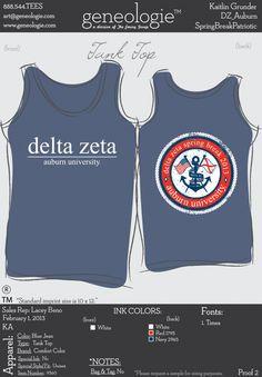 Delta Zeta tank
