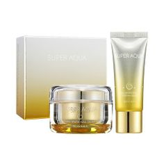 Super Aqua Cell Renew Snail Cream (Limited/Special Set) Cream 47ml and Sleeping Mask 20ml - MSRP $49.99