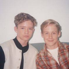 Justin Timberlake and Ryan Gosling - how cute!