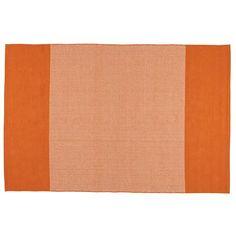 5 x 8' Sidebar Rug (Orange)   The Land of Nod